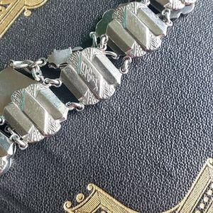 Art Deco Sorority Bracelet Beta Phi Alpha